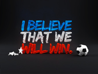 I Believe that We Will Win.