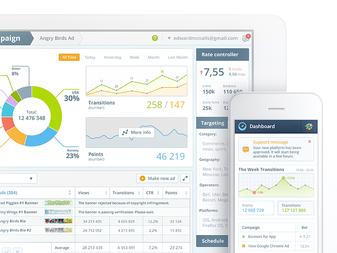 UI Design for Mobile Advertising Network