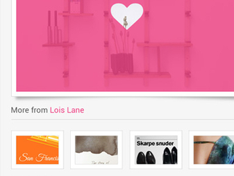 Dribbble for Android - Shot details