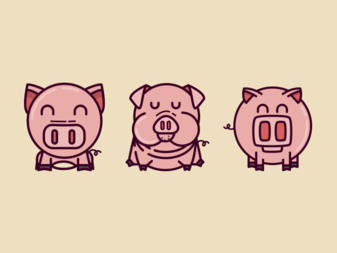 Coupla' pigs