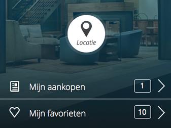 Estate App - Welcome screen