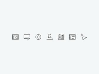 WIP Menu Icons