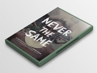 Never The Same DVD Mockup