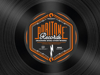 Puritone Records Logo Design By The Logo Smith