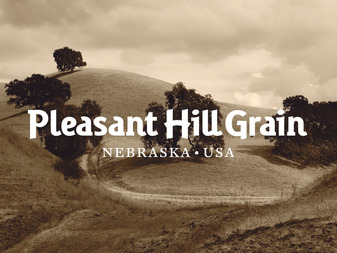 Pleasant Hill Grain Logo Design by The Logo Smith