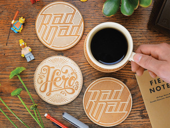 Engraved Wooden Coasters