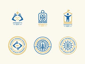 Integrity's Gift Loyalty Program - Logo Process